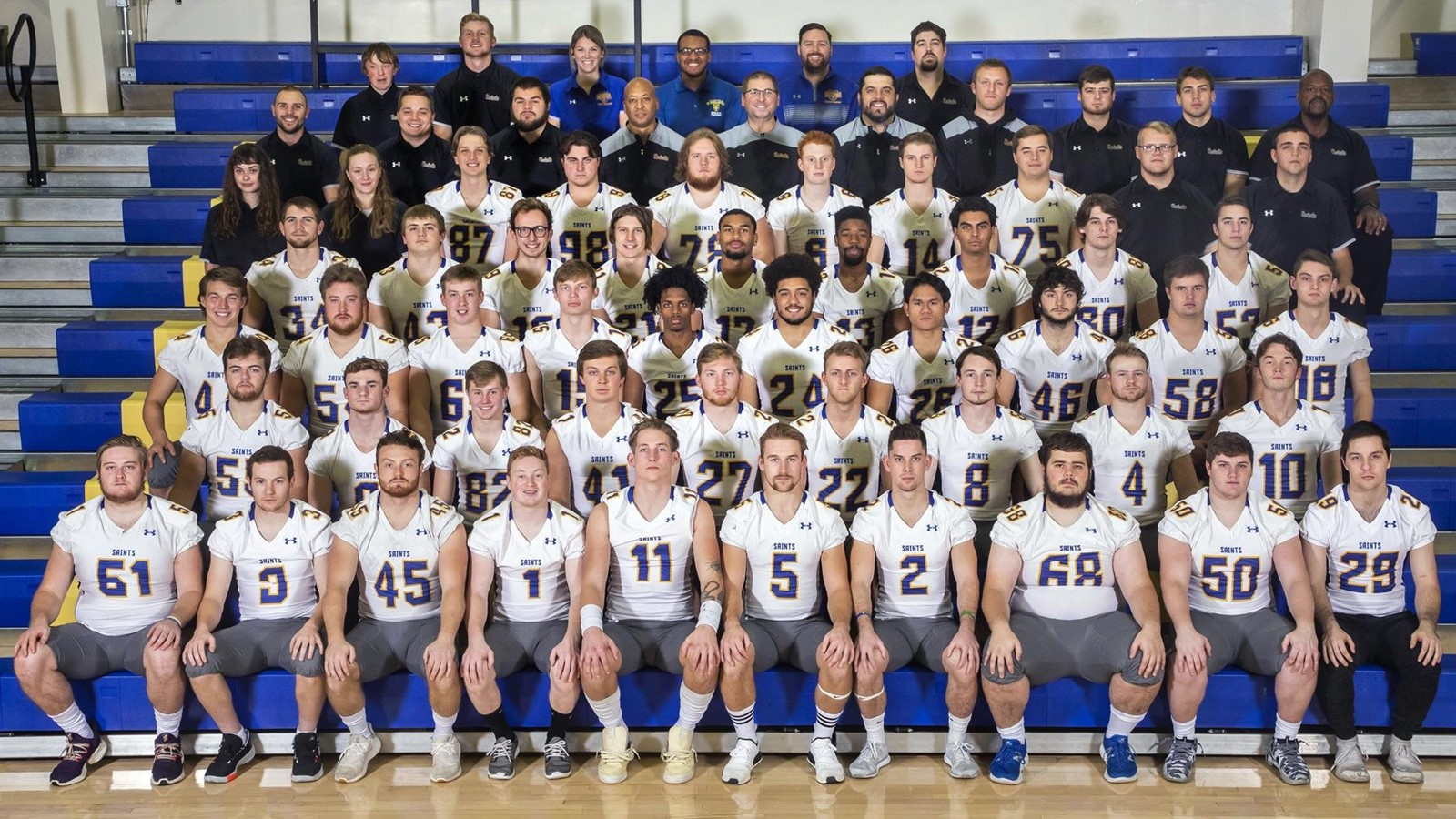 2019 Football Roster The College Of St Scholastica Athletics